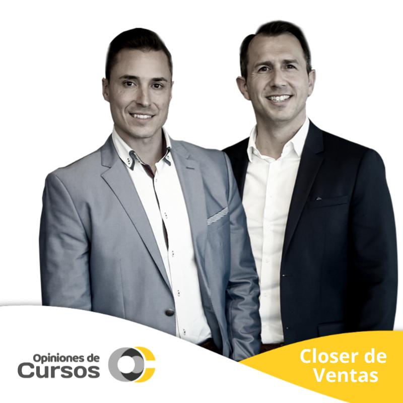 Opinión de Closer de Ventas de Alfonso y Christian