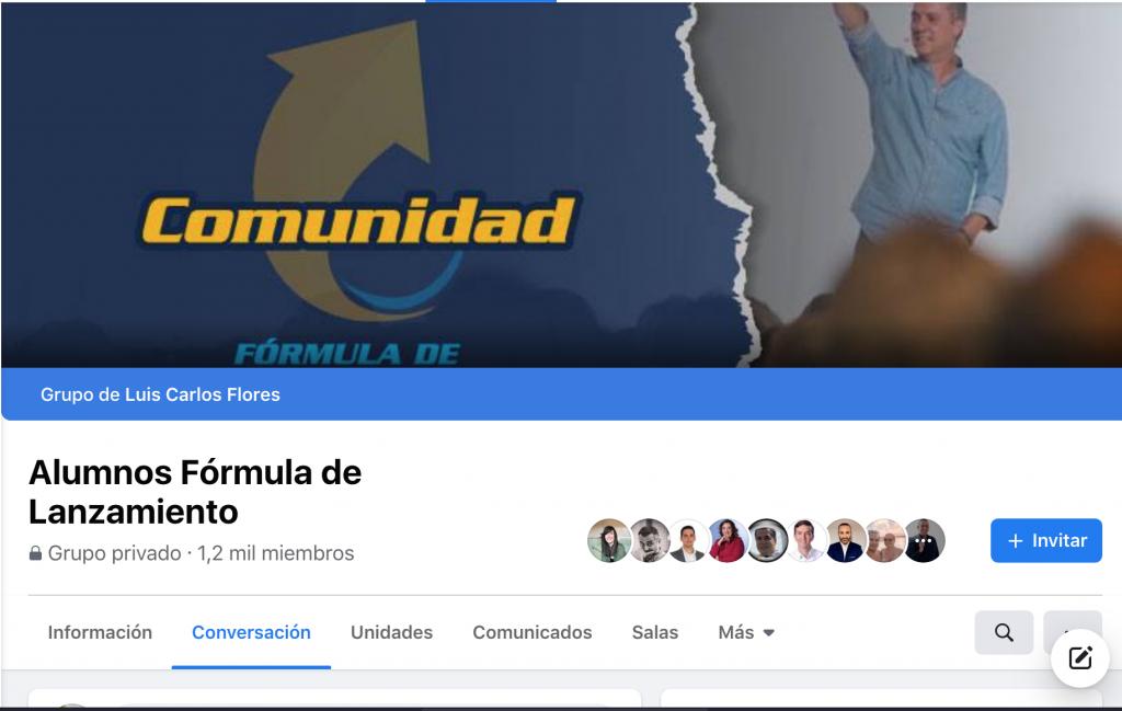 Fórmula de Lanzamiento de Luis Carlos Flores