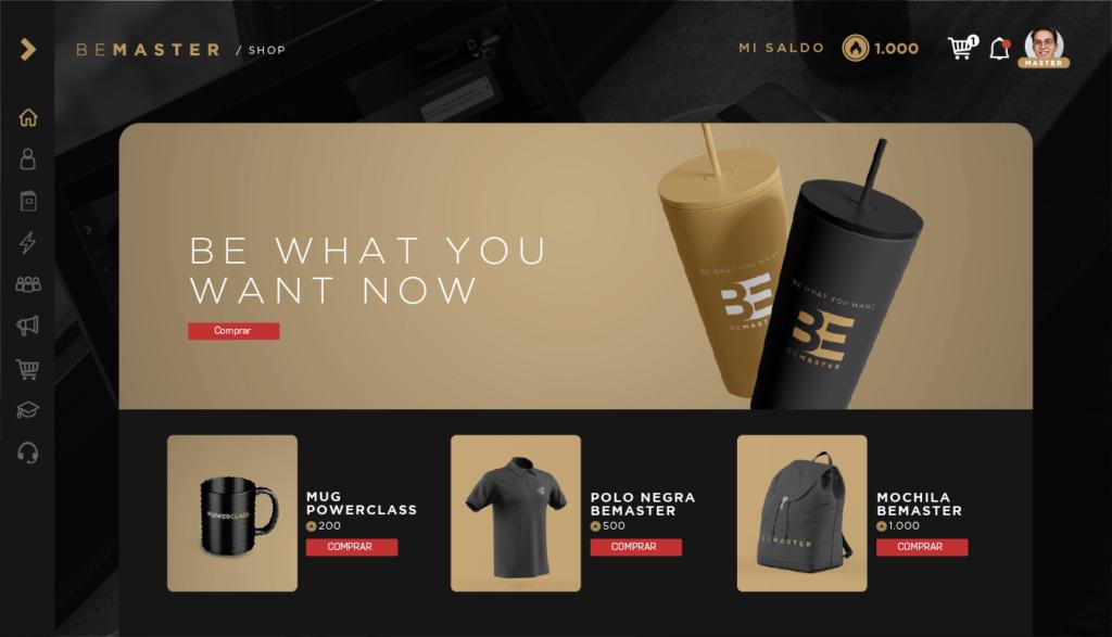 Merchandising de BeMaster