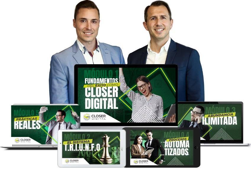 Curso Closer Digital de Alfonso y Christian